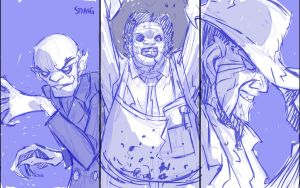 Von Toten's Faces of Death by SKETCH-JAM-CAFE