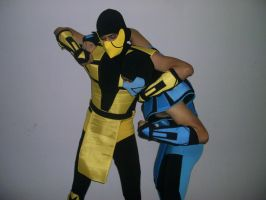 Scorpion and Sub-zero by Joedson