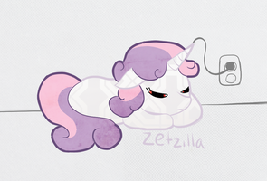 Sweetie Belle Bot by Apollonaut
