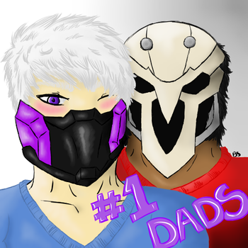 Number One Dads by BloodyShane
