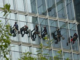Window Cleaners by Fugufisch
