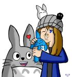 Jesse Cale: I heart you Totoro by VickyJ