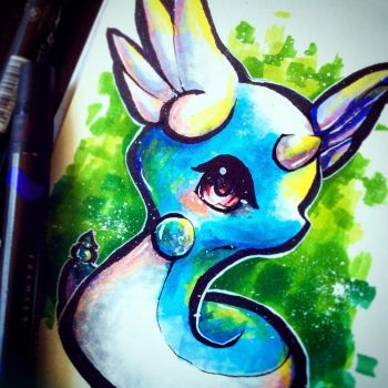 Dragonair by Silver-Artemis-Moon