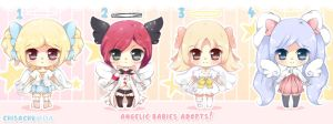 Angelic babies Adopts - CLOSED! by ChisaMissuChii