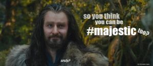 Oakenstill #2: Don't make Thorin laugh by PeckishOwl