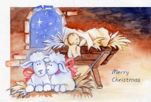 DA Holiday Card Project 2014 by Dusty-Feather