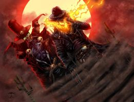 Cowboys from Hell - colors by ZethKeeper