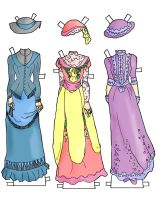 gowns for betsy jane colored by electricjesuscorpse