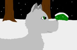arctic wolf by Dooddles