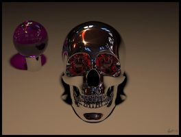 Chrome Skull by peterbru