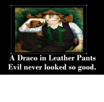 Draco in Leather Pants by Chaser1992
