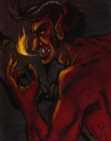 Satan -Colored- by Cageyshick05