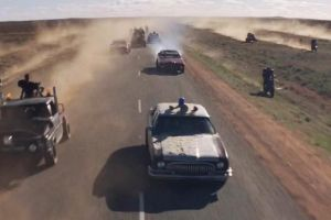 Mad Max The Road Warrior Ford Fairlane ZG 2 by MALTIAN