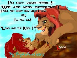 The Lion King - Kopa (mysteriousharu/Xtreme) by Diego32Tiger