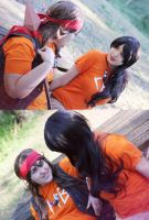 Friendship is forever. Percy Jackson cosplay. by Giuzzys