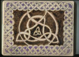 The insanity continues: Crazy Celtic Knotwork by ponygirl74