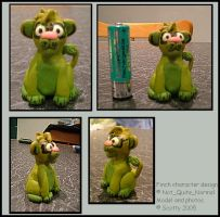 Herman in FIMO by Teh-Scotty
