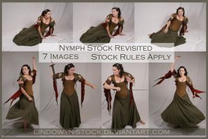 Nymph Stock Pack 1 by lindowyn-stock
