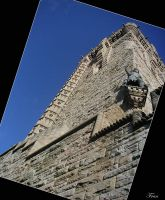 Wallace Monument - f-s-t-m by scottish