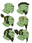 Concept orcs by HameshTheViking