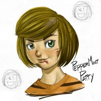Peppermint Patty - color by kevinsano