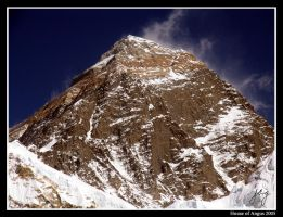 Mt Everest by angus-grant