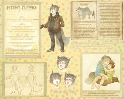 Fitzroy reference sheet by Kiwisaurus