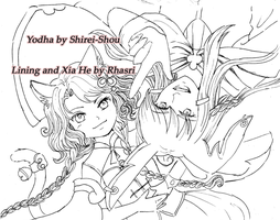 AB: COLLAB : D for Duet -Lining by Rhasri