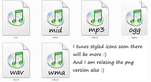 Itunes icons png by tonev