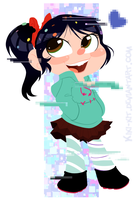 .:Vanellope:. by kiki-kit