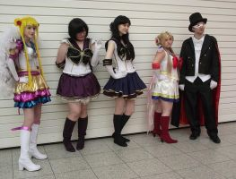 Sailor Moon Photoshoot by x-steffi-x