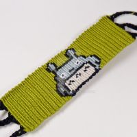 Totoro 1.5 inch Friendship Bracelet by CarrieBea