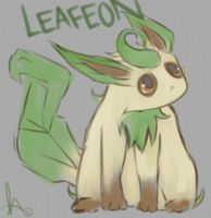 -Leafeon- by KT-ExReplica