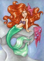 Ariel Illustration by msciuto