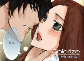 Colorize Will x Tessa by AngelTany