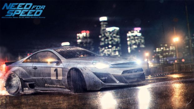 Mercedes-Benz SL65-AMG NFS Style by xGrabx