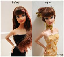 Zaffre Aniq - Before After by ctMunirah