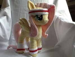 MLP FIM custom Plush Hurricane Fluttershy by GreenTeaCreations