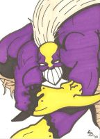 The Maxx sketch card by Elvatron