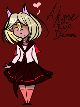 Akume the eye demon by ReneesInnerIrken
