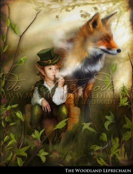 The Woodland Leprechaun by MysticMoonMedia
