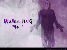 Wanna hug me by crazydarkmind