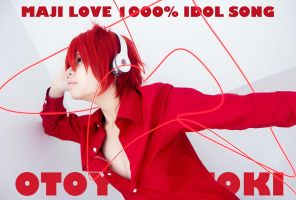 Ittoki Otoya 2- Idol Song CD Cover by nataltoran
