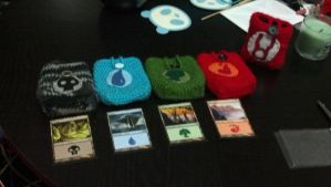 Magic the Gathering Deck Boxes by Kisses-or-Stitches