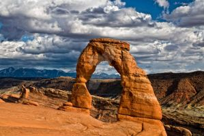 Delicate Arch by SandDollar71