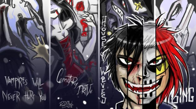 I Brought You Three cheers for danger parade by dragon-flies