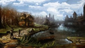 Witcher Overpaint. by pizdUrRart