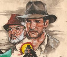 indiana jones by tengari