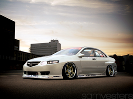 Honda Accord by Ophideus