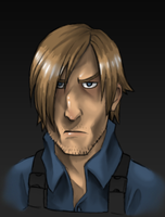 Leon Sour Face by AIBryce